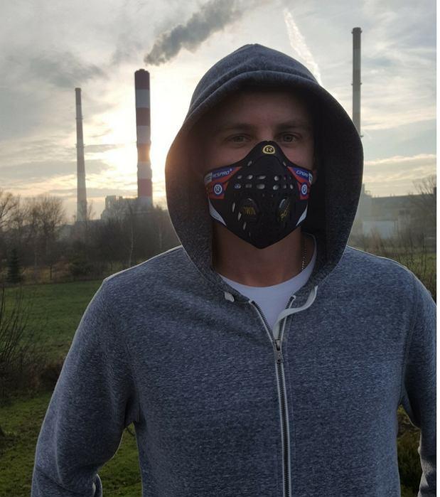 Maska antysmogowa Respro Cinqro [TEST podczas biegania i jazdy na rowerze]