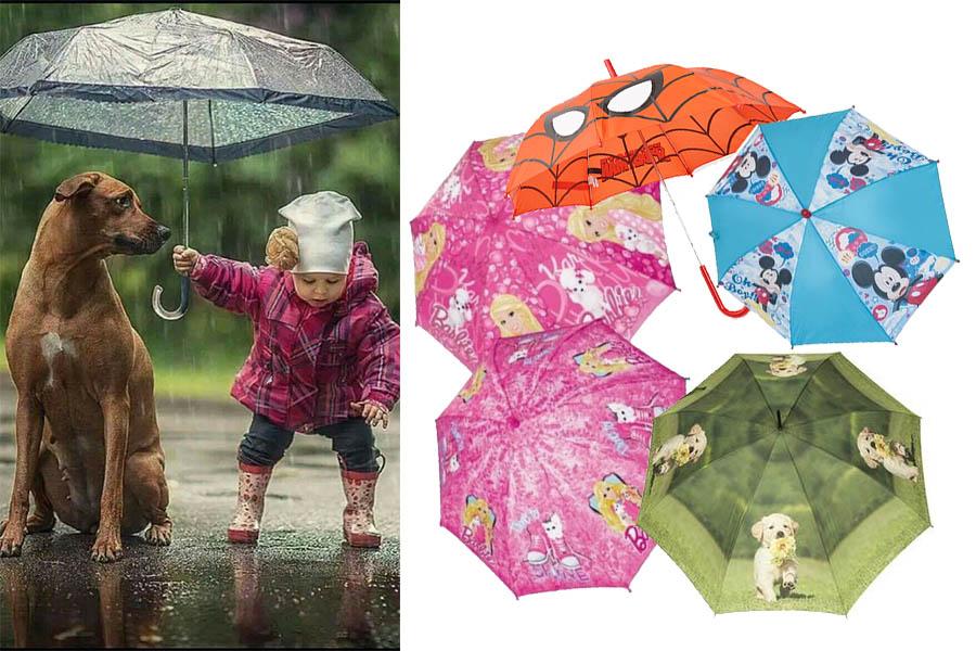 Parasolki dla dzieci
