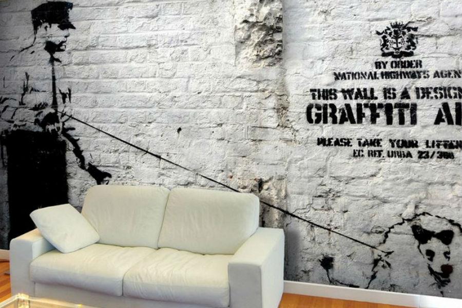 Kolaż / Banksy / Materiały partnera