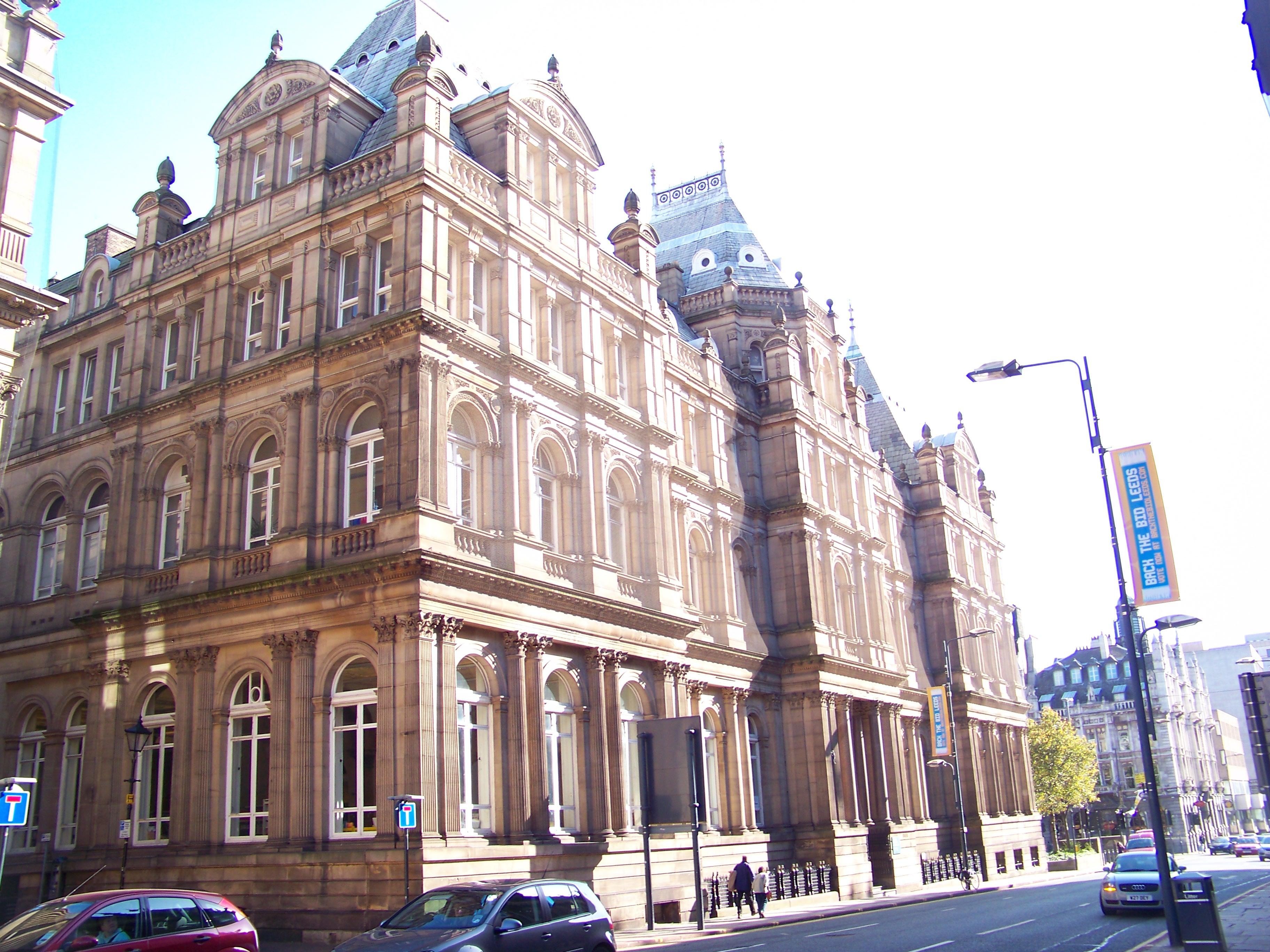 Biblioteka w Leeds (fot. Mtaylor848 / Wikimedia.org / CC BY-SA 3.0)