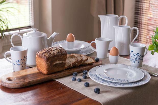 porcelana, zulana, kuchnia, styl skandynawski, wnętrza