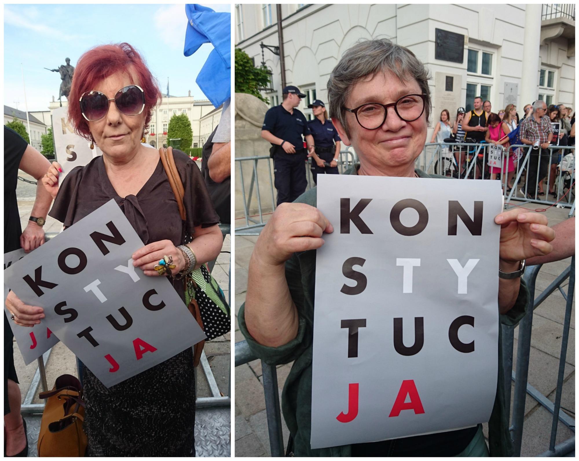 Jolanta, artysta plastyk, i Ewa - nauczyciel fizyki (fot. Weekend Gazeta.pl)