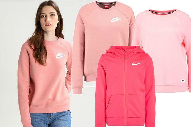 bluzy w różowym kolorze