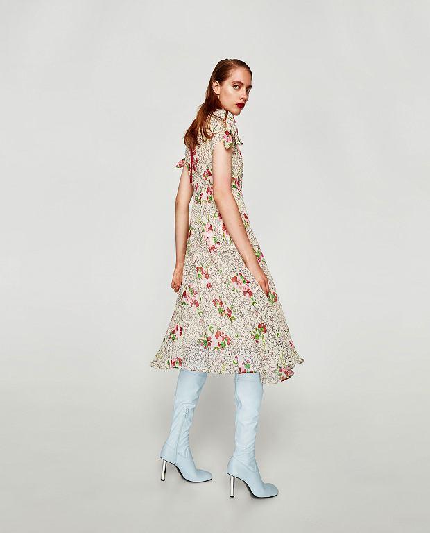 Sukienka z jesiennej kolekcji Zara
