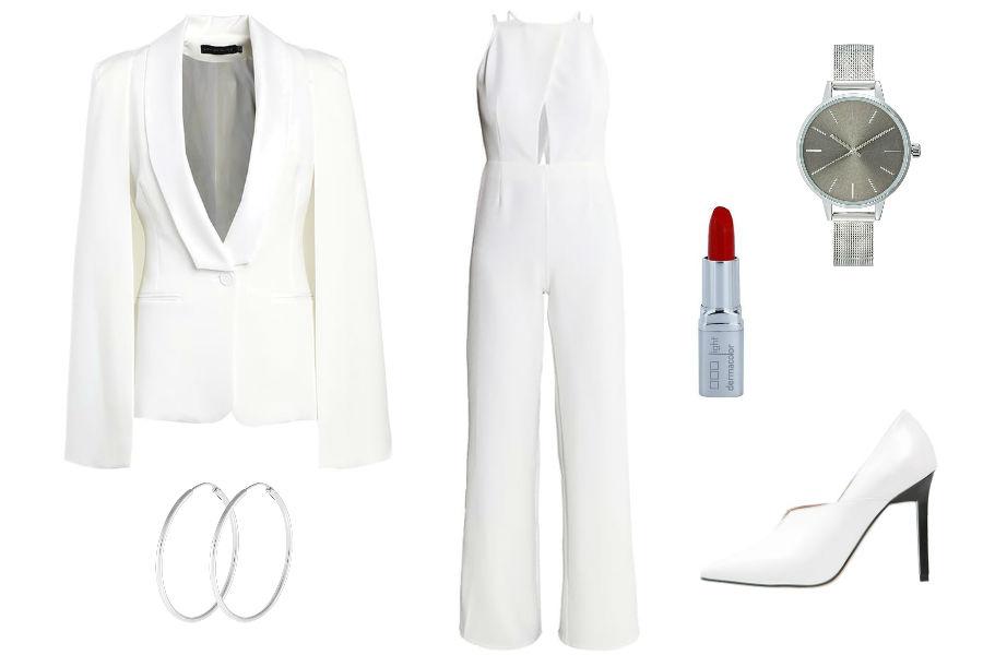 Biała stylizacja