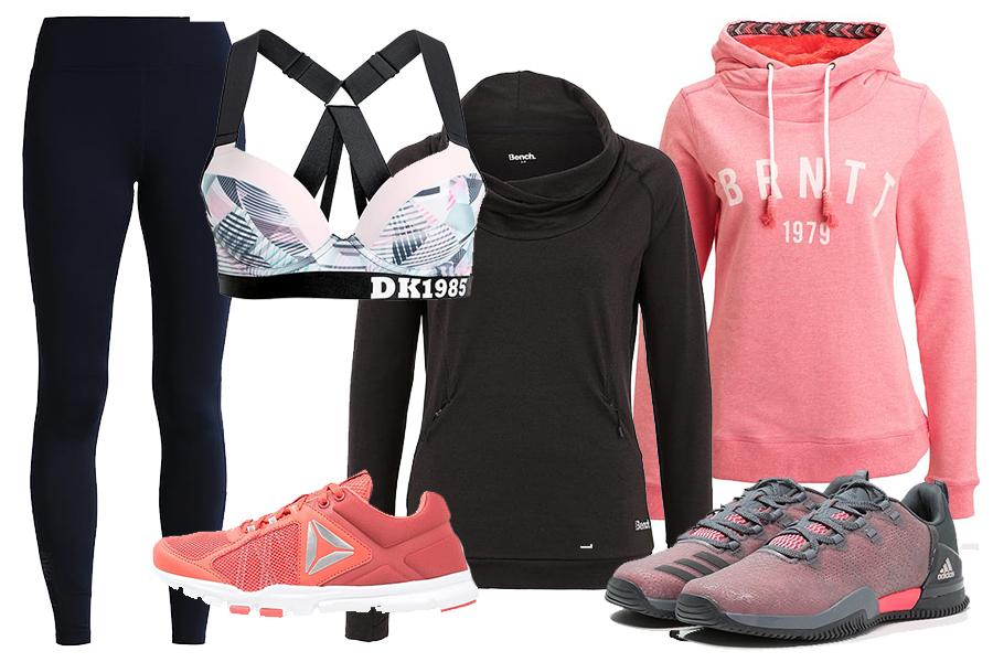 Sportowe ubrania i obuwie