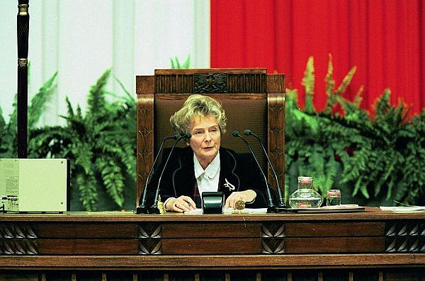 Olga Krzyżanowska: Mój ojciec umarł w więzieniu UB bez sądu. Zmiany PiS to powrót do tych najgorszych lat