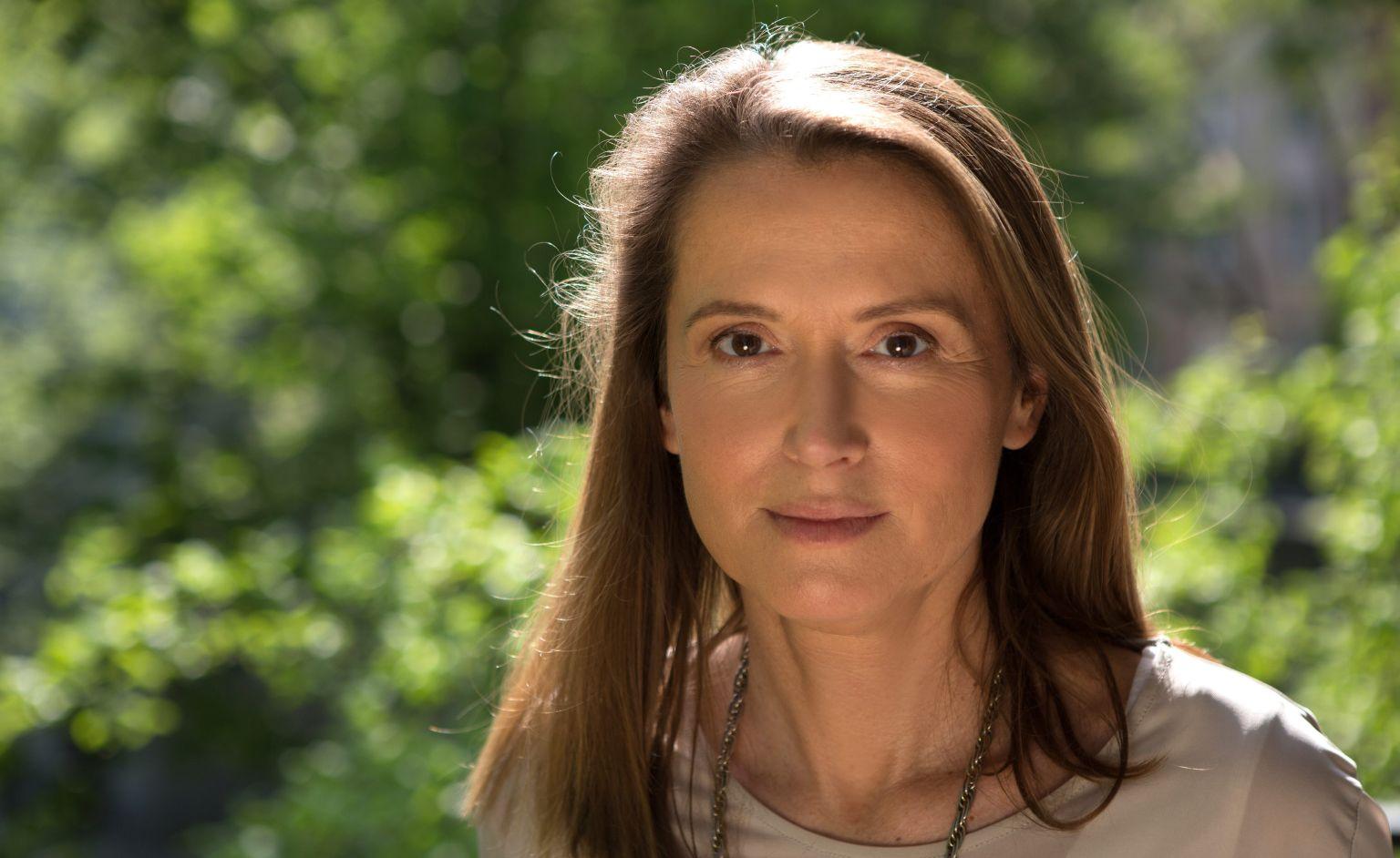 g28.04.2014 Warszawa. Dziennikarka i projektantka Monika JaruzelskaFot. Albert Zawada / Agencja Gazeta