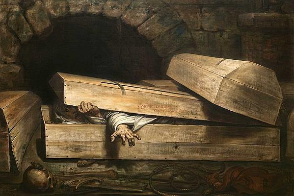 Złożenie do grobu żywego człowieka zdarzało się często. Powołano więc Stowarzyszenie Zapobiegania Grzebaniu Ludzi Żywcem