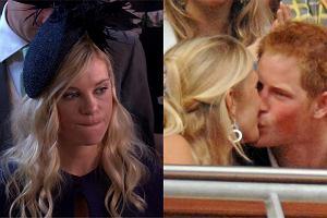 Była dziewczyna Harry'ego nie wyglądała na szczęśliwą na ślubie. Wcześniej ze sobą rozmawiali. Płakała, a potem coś mu obiecała