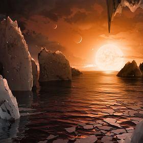 Historyczne odkrycie! NASA: Siedem nowych planet, na trzech może być życie
