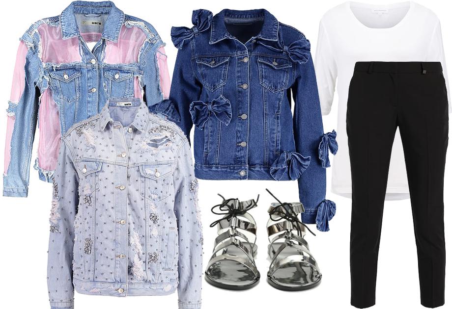Jeansowa kurtka - stylizacja