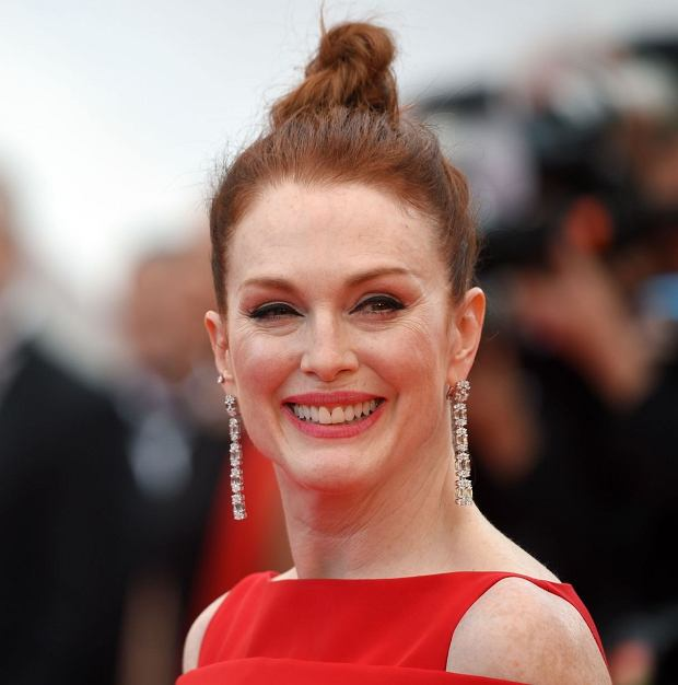 Mandatory Credit: Photo by Anthony Harvey/REX/Shutterstock (9665146ap)  Julianne Moore  Everybody Knows premiere and opening ceremony, 71st Cannes Film Festival, France - 08 May 2018