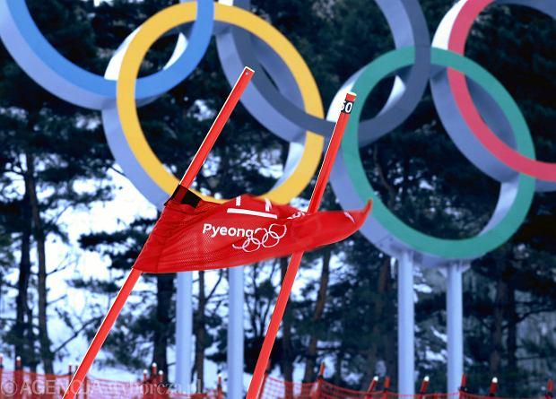 11.02.2018  Pjongchang. Odwolany slalom gigant kobiet z powodu wiatru . Fot . Kuba Atys / Agencja Gazeta SLOWA KLUCZOWE: Pjongczang2018 olimpiady narciarstwo alpejskie