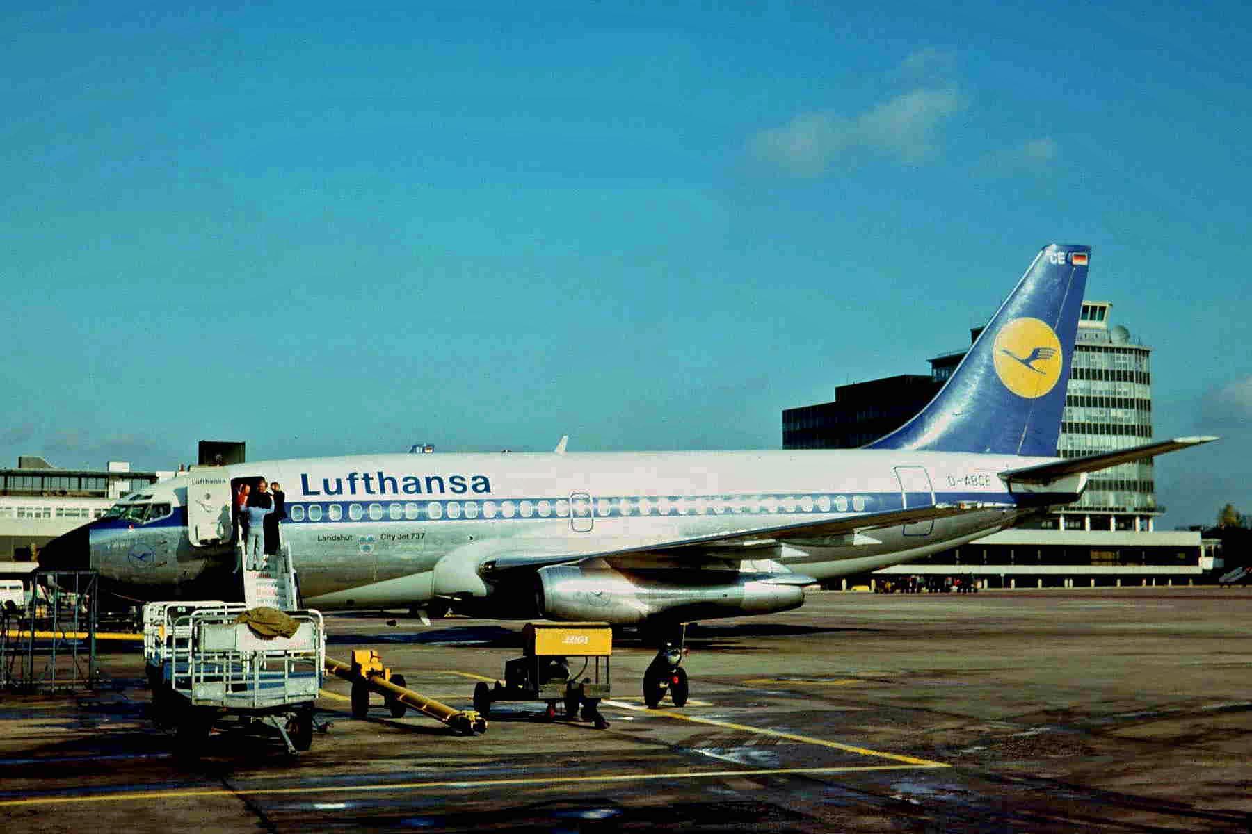 Samolot Lufthansy porwany w październiku 1977 r. przez palestyńskich terrorystów. Do zamachu doszło podczas lotu z Pallma de Mallorca do Frankfurtu (fot. Ken Fielding / Wikimedia.org / CC BY-SA 3.0)