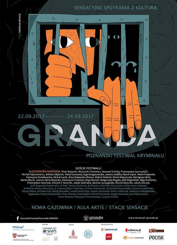 Poznański Festiwal Kryminału GRANDA - plakat