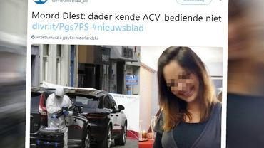 """Polak zabił pracownicę urzędu w Belgii. Po wszystkim krzyknął: """"zadanie wykonane"""""""