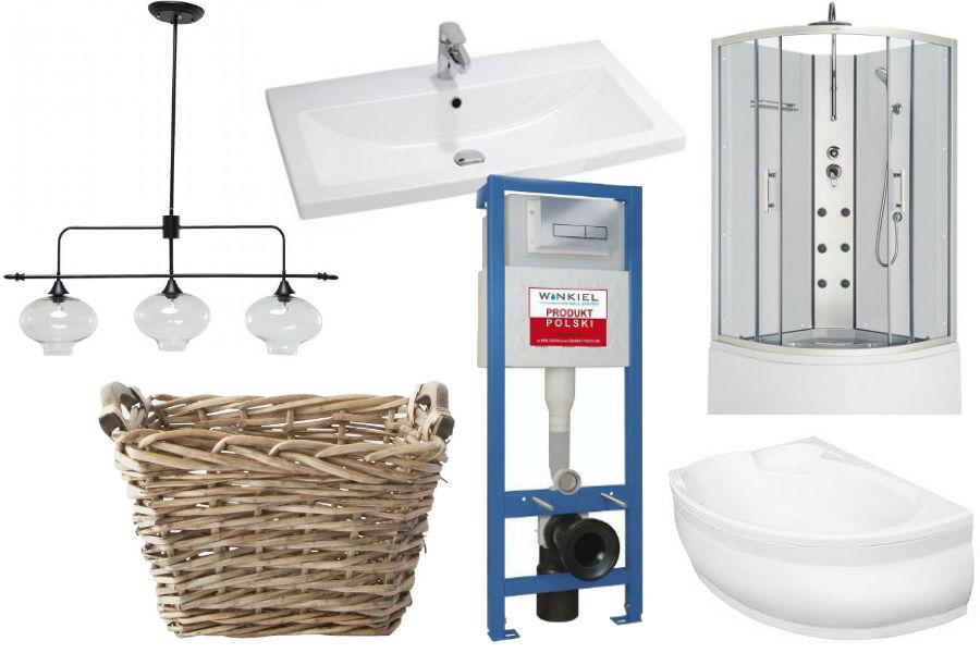 łazienka, aranżacja łazienki, dodatki, wnętrza, blok