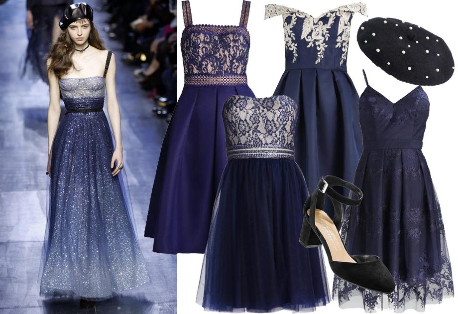 Imprezowa stylizacja inspirowana Christianem Diorem