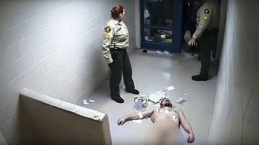 46 godzin siedział nagi, przywiązany do krzesła. Strażnicy śmiali się, gdy więzień umierał