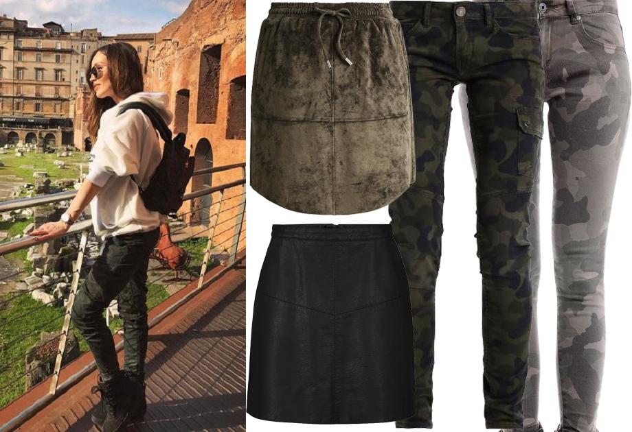 Kolaż, spodnie i spódniczki/Materiały partnera/fot. www.instagram.com/marina_official
