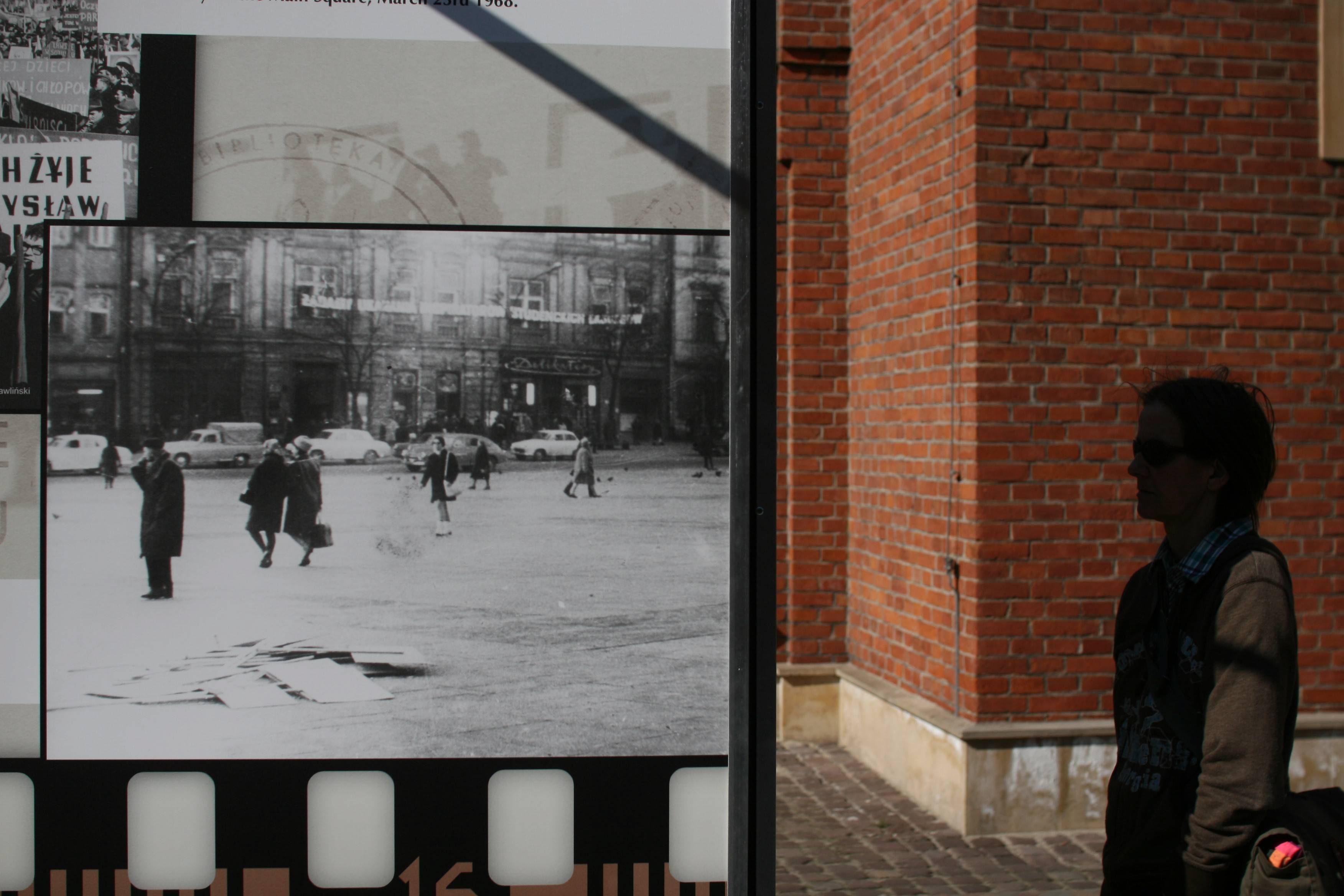 Wystawa 'Marzec 1968 w Krakowie' (fot. Michał Łepecki / Agencja Gazeta)