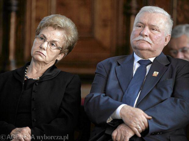 Danuta i Lech Wałęsa