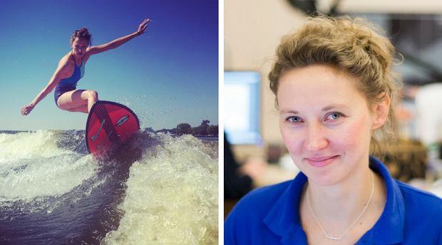 Fizjoterapeutka Magdalena Syrek doskonale wie, jak dbać o swoje kolana.