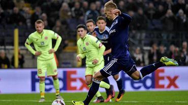 Liiga Europy. No pięknie. Anderlecht prowadził 2:0, wszedł Teodorczyk i jest... 2:3