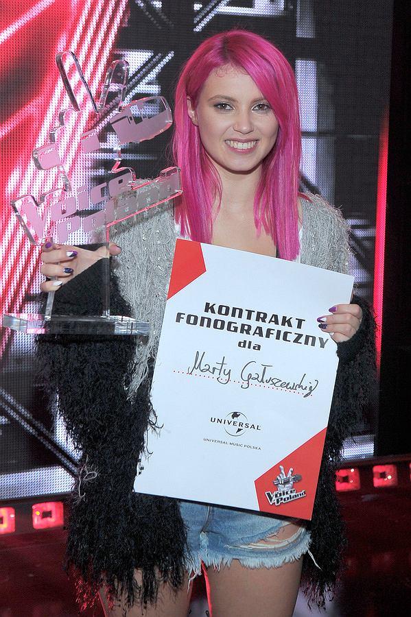 FINAŁ - The Voice of Poland - na żywo, listopad 2017, The Voice of Poland, The Voice of Poland - finał, The Voice of Poland 8, Marta Gałuszewska