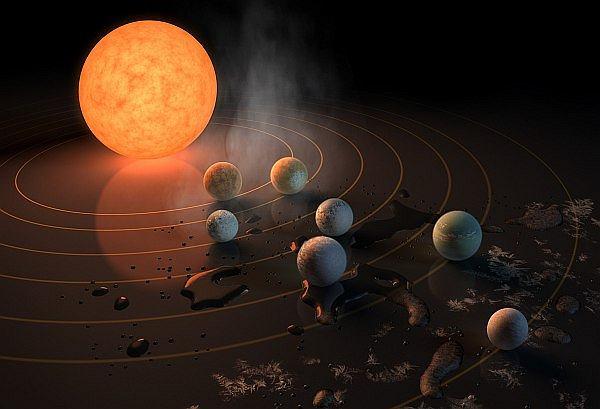 Wójcicki: Układ z siedmioma planetami to jest sensacja. NASA potwierdziła, że Wszechświat nie jest pusty