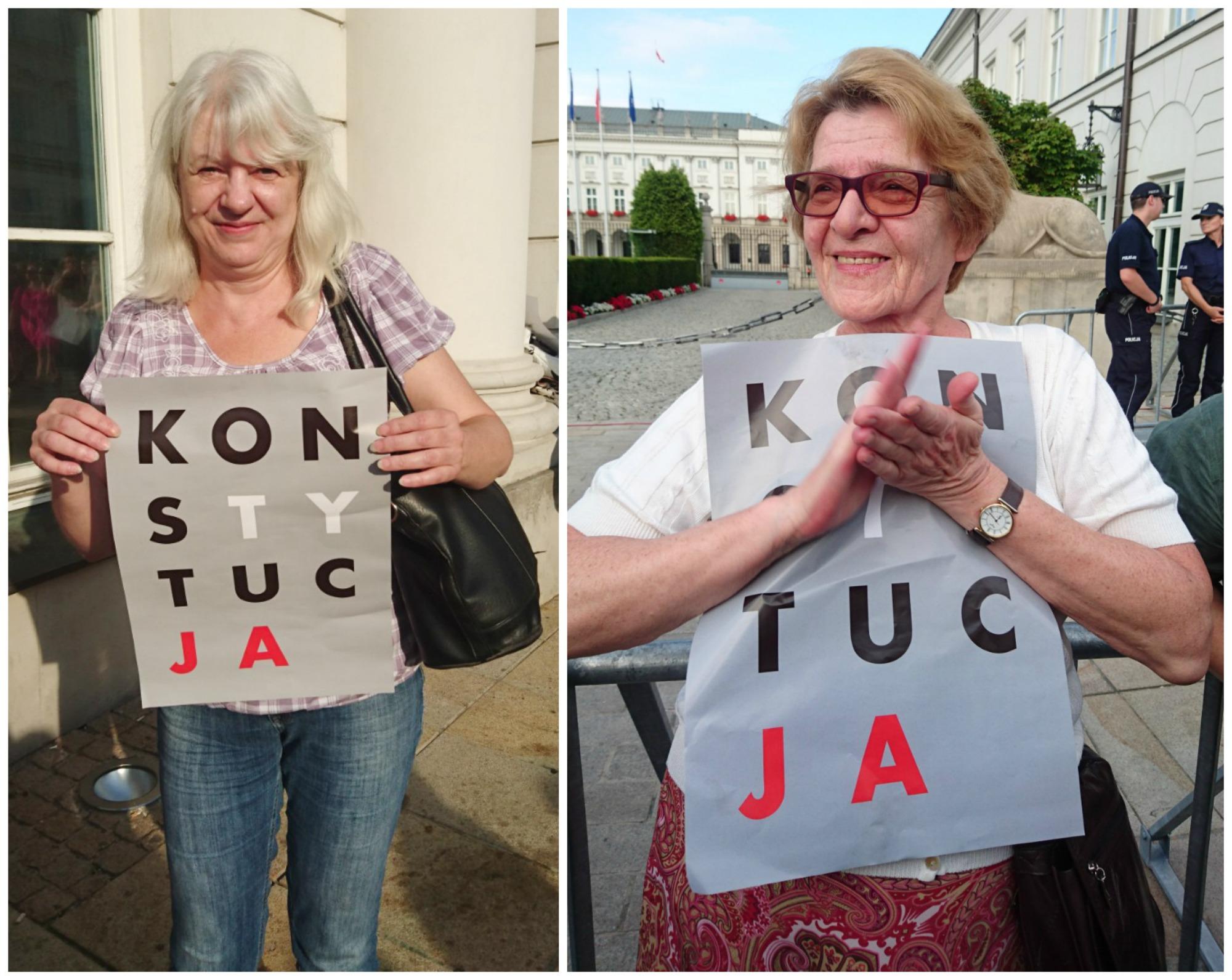Ewa, księgowa, i Elżbieta - emerytka (fot. Weekend Gazeta.pl)