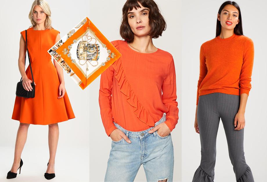 Pomarańcz - stylizacja