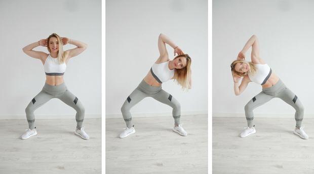 Trening Karlie Kloss