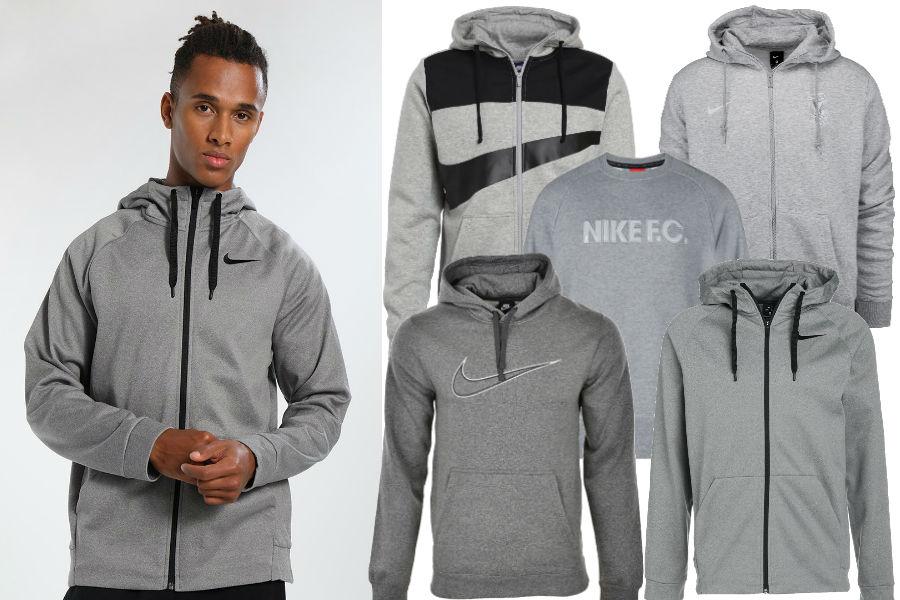 Kolaż / Bluzy Nike / Materiały partnerów