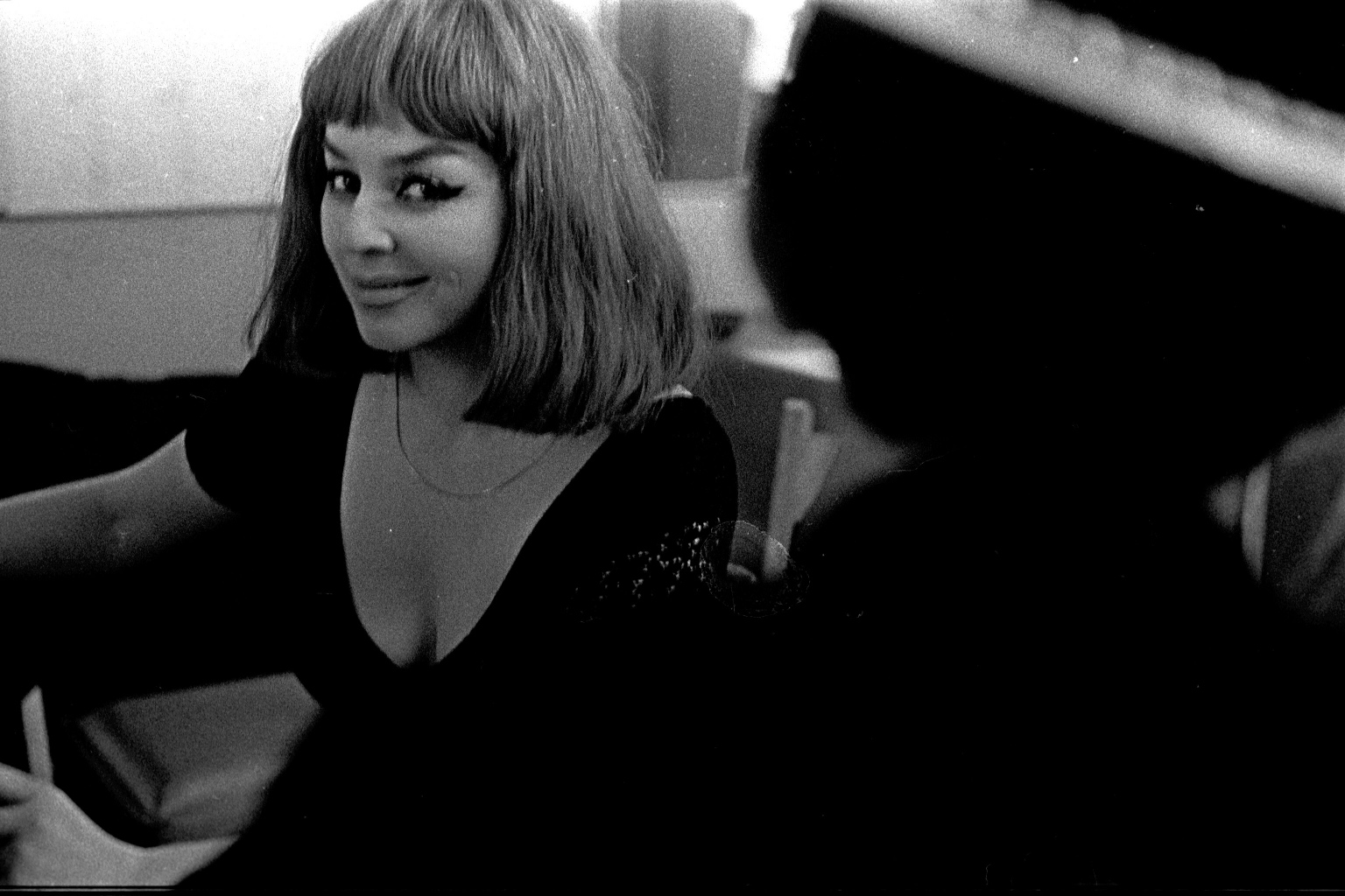 Kalina Jędrusik na opolskim festiwalu, 1964 r.
