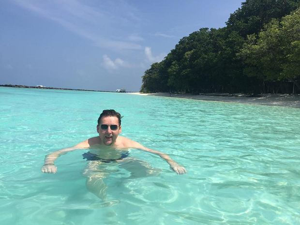 Marek Migalski na Malediwach