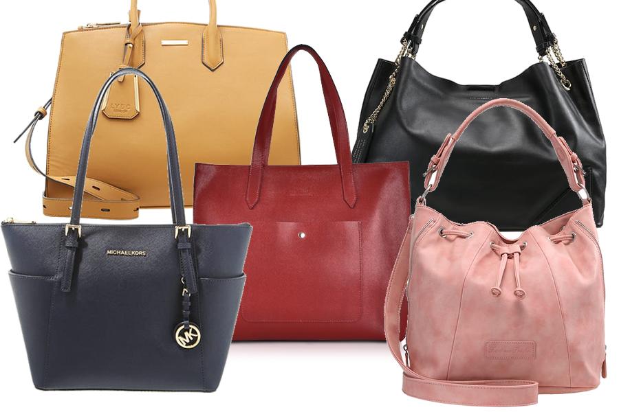 Kolaż, torebki do pracy/Materiały partnera/