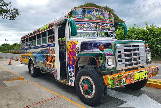 Autobus Diablo Rojo w Panamie