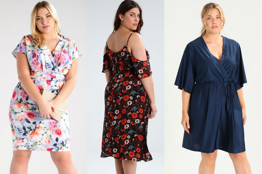 df41cd9183 Letnie sukienki dla puszystych