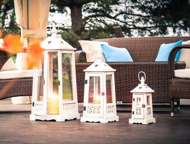 Lampiony ogrodowe