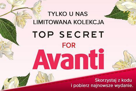 Limitowana kolekcja Top Secret for Avanti