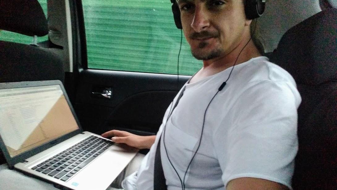 Piotr, w podróży jest od dwóch lat (fot. archiwum prywatne)