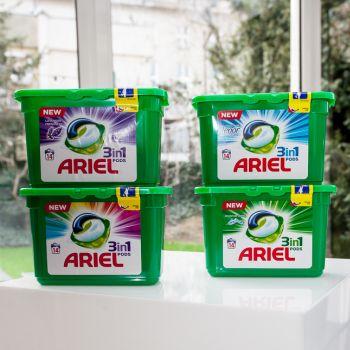 Ariel 3w1 POD aktywuja sie jeszcze szybciej