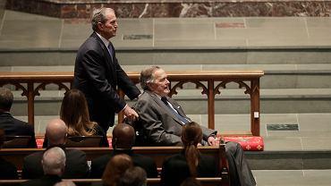 Ameryka pożegnała Barbarę Bush. Na pogrzebie Obama, Clinton i Melania Trump. Prezydenta USA nie było