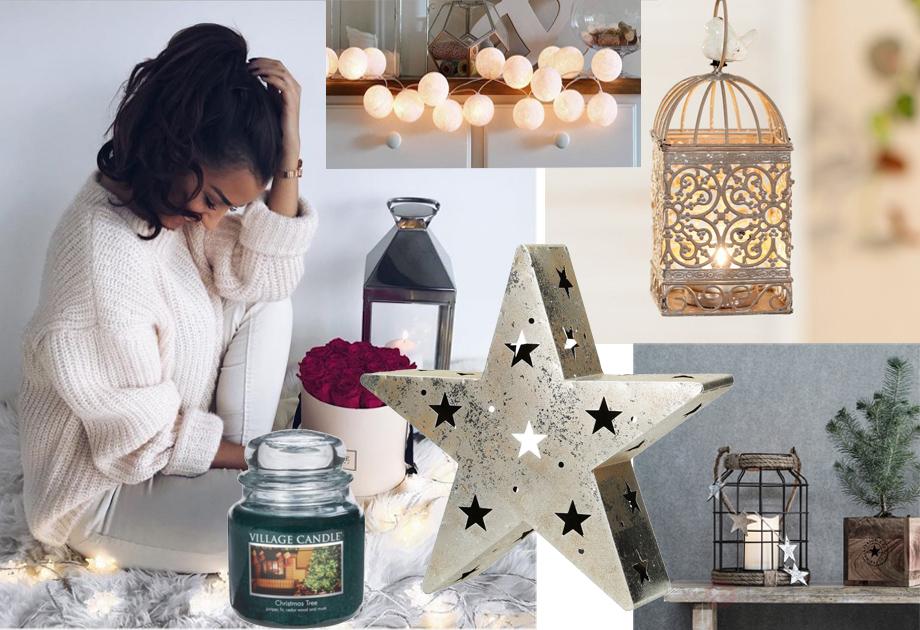 Pomysł na prezent do domu: latarenki, świece, yankee candle