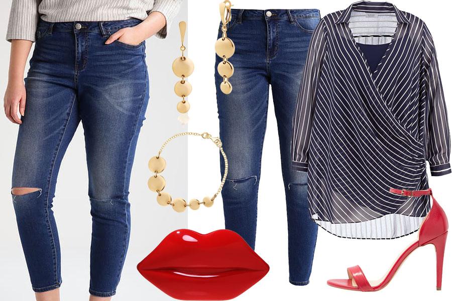 Stylizacja spodnie na specjalne okazje / Kolaż / Materiały partnera