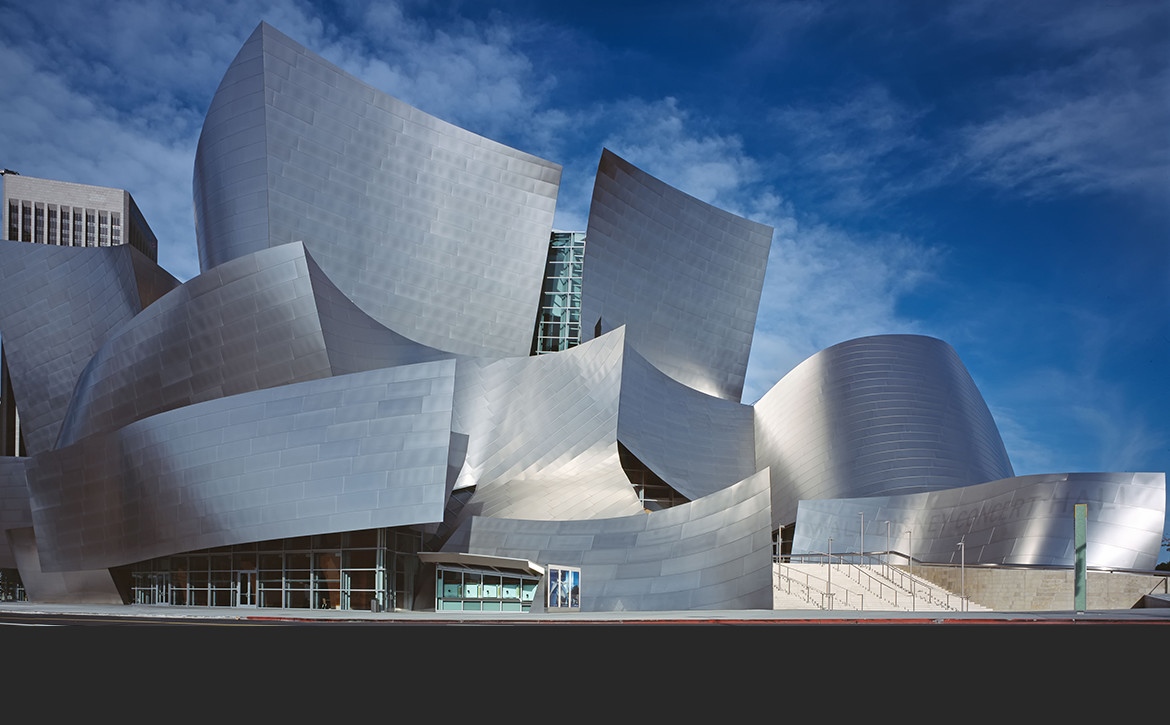 Walt Disney Concert Hall, proj. Frank Ghery. fot. Library of Congress