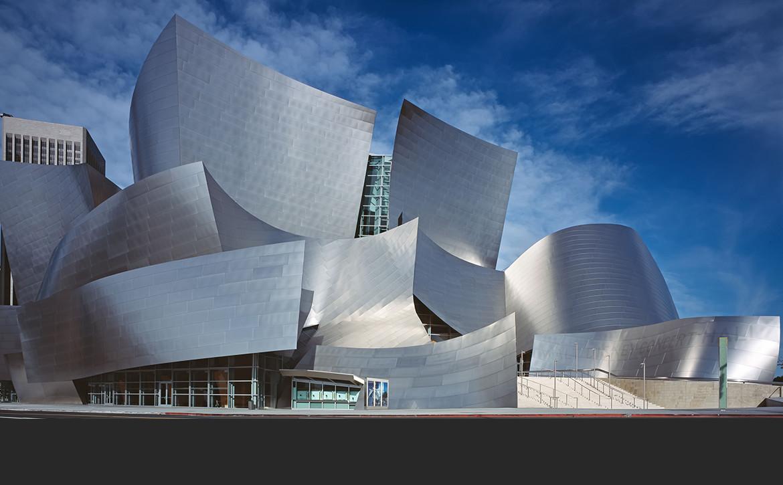 Walt Disney Concert Hall, proj. Frank Ghery. fot. Library of Congress