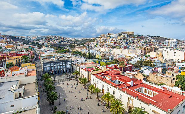Plaza de Santa Ana w Las Palmas